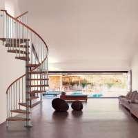 Genius020 - винтовая лестница