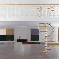 Genius 010 винтовая лестница с балюстрадой