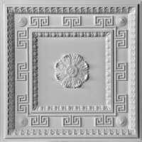 Потолок подвесной «Версаче» E-004