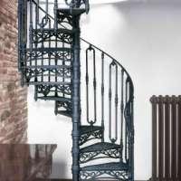 Чугунные винтовые лестницы, лестничные ограждения