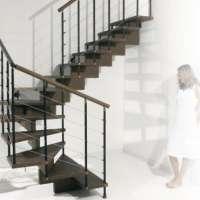 Лестница Сhic line -  многовариантная модульная лестница