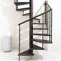 Квадратно-винтовая лестница Scenic Сhic line