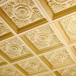 потолки кессонные