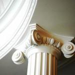 """колонны из гипса """"ГИНТР"""""""