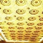 потолки  гипсовые подвесные